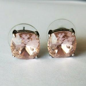 Origami Owl Clara Swarovski Antique Rose earrings